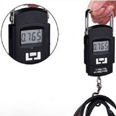 Cantar electronic, 50 KG portabil, rezistent, diviziune 10 g, LCD, negru