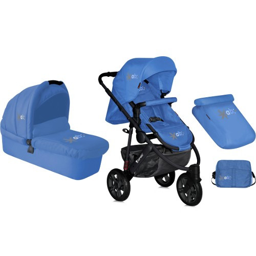 Carucior Monza 2 in 1 Roti cu Camera 2015 Blue