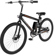 Bicicleta electrica Airwheel R8P, Roti 26inch, Viteza maxima 20km/h, Putere motor 235W, Baterie LG 214.6Wh/36V (Negru)