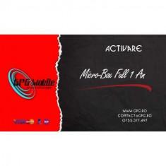 Activare 1 an Full Micro-Box, Micro-Box Dongle