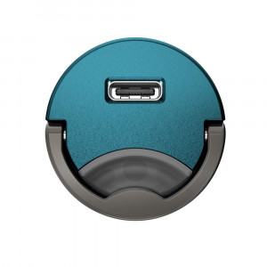 Incarcator Auto Baseus, Tiny Star Mini, Quick Charge, USB Type C, Albastru
