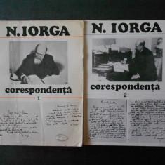 NICOLAE IORGA - CORESPONDENTA 2 volume