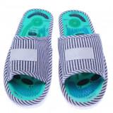 Papuci reflexoterapeutici pentru masaj picioare/talpi, XXL, Verde