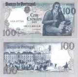 2 x 1984 (31 I), 100 escudos (P-178c.7) - Portugalia - stare UNC