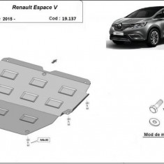 Scut motor metalic Renault Espace V 2015-prezent