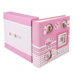 Album foto Baby Four 10x15, 200 poze, personalizabil, spatiu notite