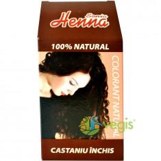 Vopsea Par Henna Castaniu Inchis 100gr