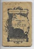 VERONICA MICLE - POEZII , POEZII , Iasi ( Biblioteca Saraga ) , 1909
