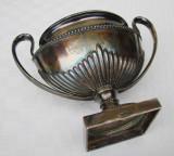 Cupa din alama argintata marcata GAB NS 99