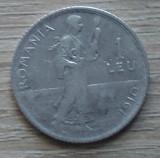 Moneda argint 1 leu 1910