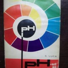 PH-ul si aplicatiile lui- C. Luca