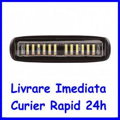 Proiector LED 24W 30° 12-24V Lumina Alba + Portocalie AL-010720-3