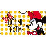 Parasolar parbriz Minnie Dot Me Disney, 150 x 80 cm, Multicolor