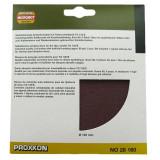 Cumpara ieftin Set discuri abrazive autoadezive pentru TG 125 E Proxxon PRXN28160, O125 mm, granulatie 80, 5 bucati