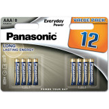 Baterii Panasonic Everyday Power LR03/AAA 12 bucati