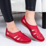 Balerini Piele Emosia rosii -rl