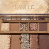 Paleta farduri pentru ochi ColourPop Lyric, 4.15g
