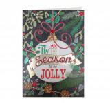 Felicitare - Tis the Season to be Jolly | Laura Darrington Design