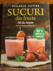 Sucuri din fructe 50 de retete pentru sanatate si intinerire - Suzannah Olivier foto