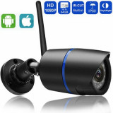 Camera IP exterior/interior,Full HD,Inflarosu,Suport 64 GB,Android,iOs,PC