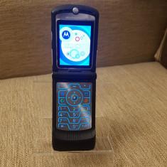 Telefon clapeta Motorola Razr V3 Black Liber de retea Livrare gratuita!