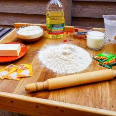 PLANSETA Blat de aluat lemn masiv HANDMADE coca horeca cofetarie PROMOTIE!
