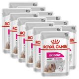 Cumpara ieftin Royal Canin Exigent Dog Loaf pliculeț cu pateu pentru câini mici de 12 x 85 g