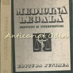 Medicina Legala. Definitii Si Interpretari - T. Ciornea, Gh. Scripcaru
