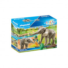 Playmobil Family Fun - Habitatul elefantilor