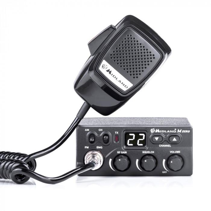 Resigilat : Statie radio CB Midland M Zero Plus Cod C1169.01
