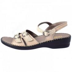 Sandale dama, din piele naturala, Gatta, 517DSA1170411-3, bej