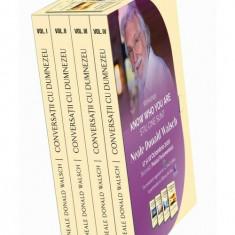 Cumpara ieftin Conversatii cu Dumnezeu. Set 4 Volume + Cutie. Editie Speciala