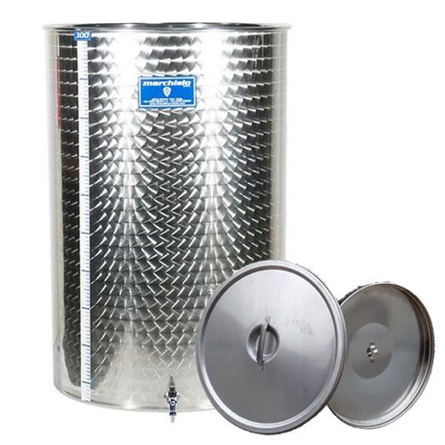 Cisterna inox Marchisio SPO150, 150 litri, capac flotant cu ulei de parafina, 477x900 mm