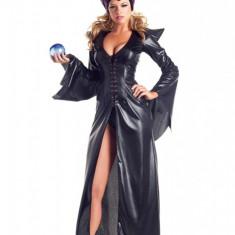 C504-1 Costum tematic Halloween, model Maleficent, M