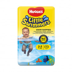 Scutece Huggies Little Swimmers, Nr 2-3, 3 - 8 Kg, 12 buc