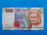 1000 Lire 1990 Italia-UNC