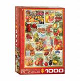 Cumpara ieftin Puzzle Eurographics - Fruits Seed Catalogue, 1000 piese