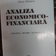 Analiza Economico-financiara - Silvia Petrescu ,548454