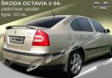 Eleron prelungire portbagaj tuning sport Skoda Octavia 2 RS Vrs 2004-2013 v5