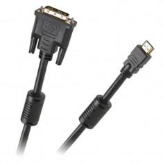 Cablu digital Cabletech KPO3701-10, DVI - HDMI, 10 m, Gold V 1.3B