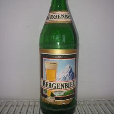 Sticla  Bere  Bergenbier  cu  eticheta, anii 1990