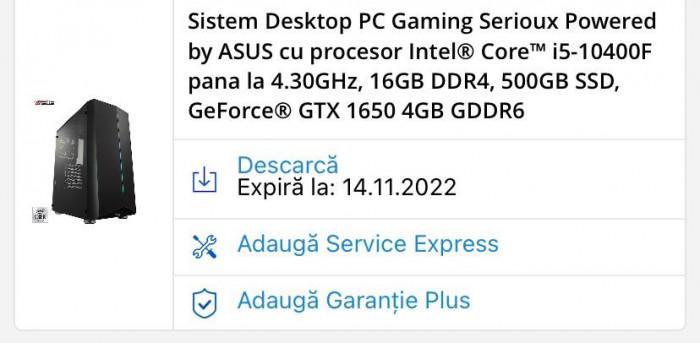Vand Sistem Desktop PC Gaming