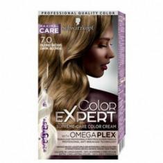 Vopsea de par Color Expert, 7-0 Blond Inchis, 146.8 ml