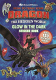 How to Train Your Dragon The Hidden World: Glow in the Dark Sticker Book
