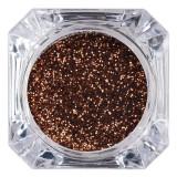 Cumpara ieftin Sclipici Glitter Unghii Pulbere LUXORISE, Dark Honey #61