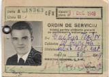 Ordin de serviciu CFR 1949 RPR perioada comunista