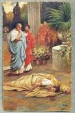 AD 272 C. P. VECHE -QUO VADIS ?- THE DEATH OF NERO -PATATA, Franta, Circulata, Printata