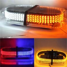 Bara Rampa girofare cu LED-uri 12v/24v lumina ALBASTRA COD: ART101A ManiaCars