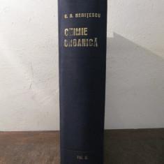 TRATAT  DE CHIMIE ORGANICA-COSTIN NENITESCU VOL. 2