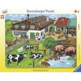 Puzzle Familie de animale, 35 piese Ravensburger